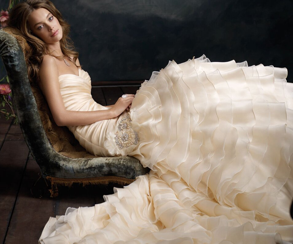 Lazaro sherbet wedding dresses pictures ideas guide to for Where to buy lazaro wedding dresses