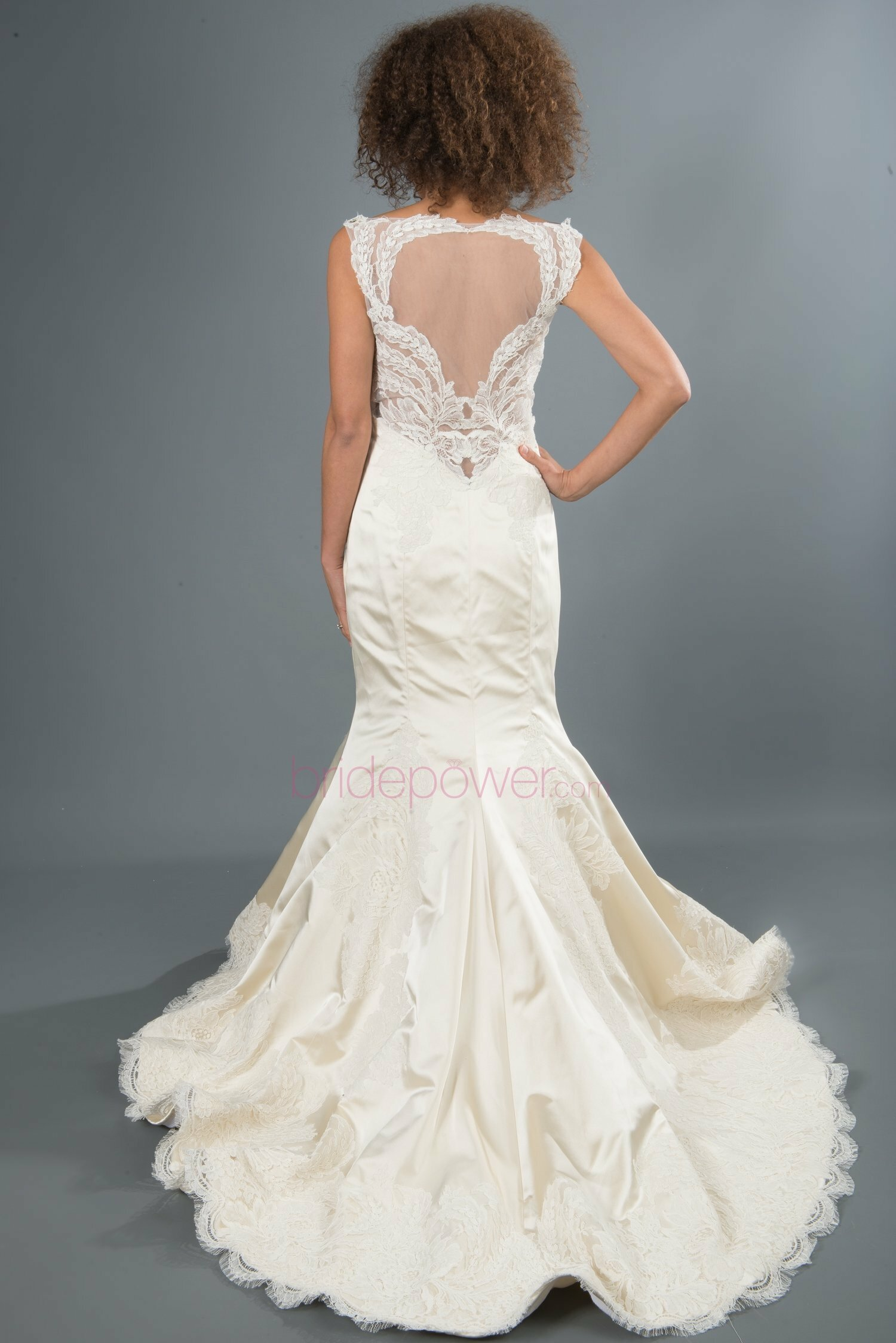 Lazaro Trumpet wedding dresses Photo - 10