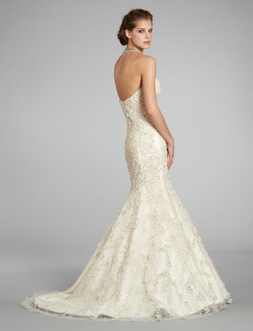 Lazaro Trumpet wedding dresses Photo - 5