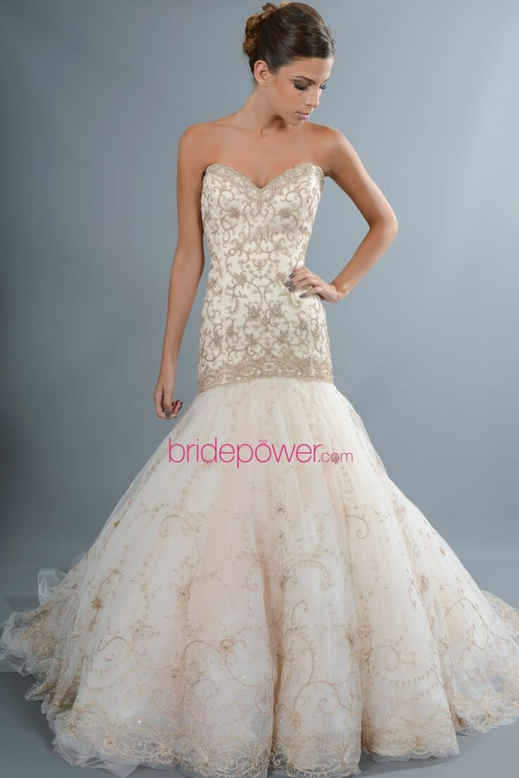 Lazaro Trumpet wedding dresses Photo - 7