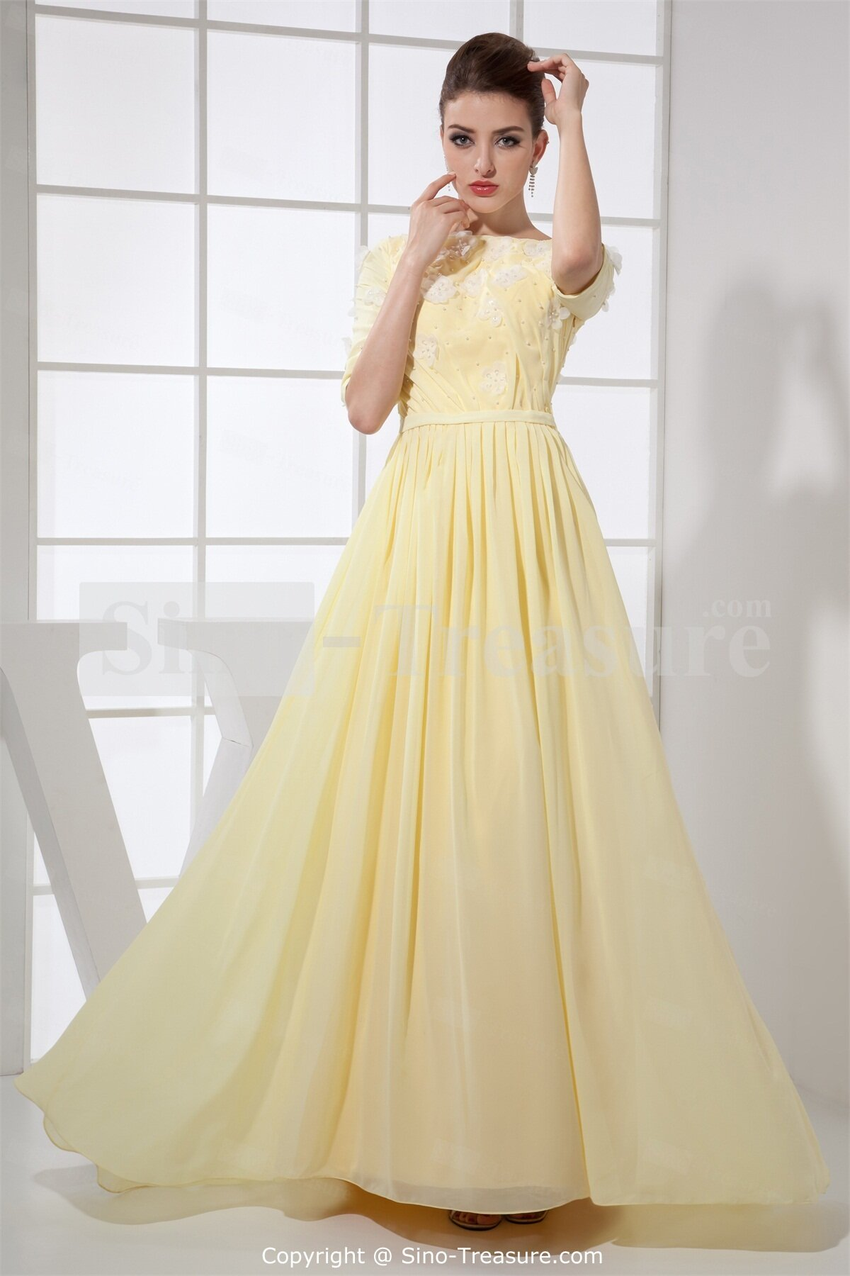 Pale Yellow Dresses for Women _Other dresses_dressesss