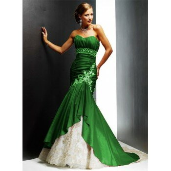Lime green and white wedding dresses: Pictures ideas, Guide to ...