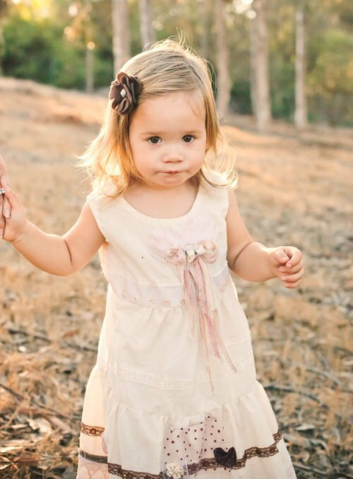 Little girl dresses for weddings: Pictures ideas, Guide to buying ...