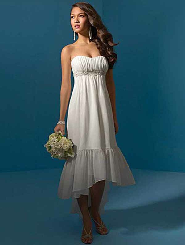 Maternity wedding dresses short: Pictures ideas, Guide to buying ...