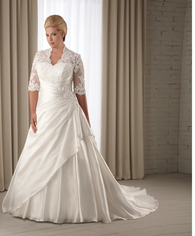 Modest Plus Size Wedding Dresses Pictures Ideas Guide To Buying