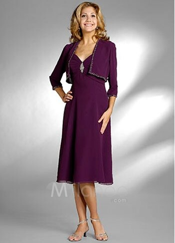 Mother of the groom dresses for fall wedding pictures for Wedding dress for grooms mother