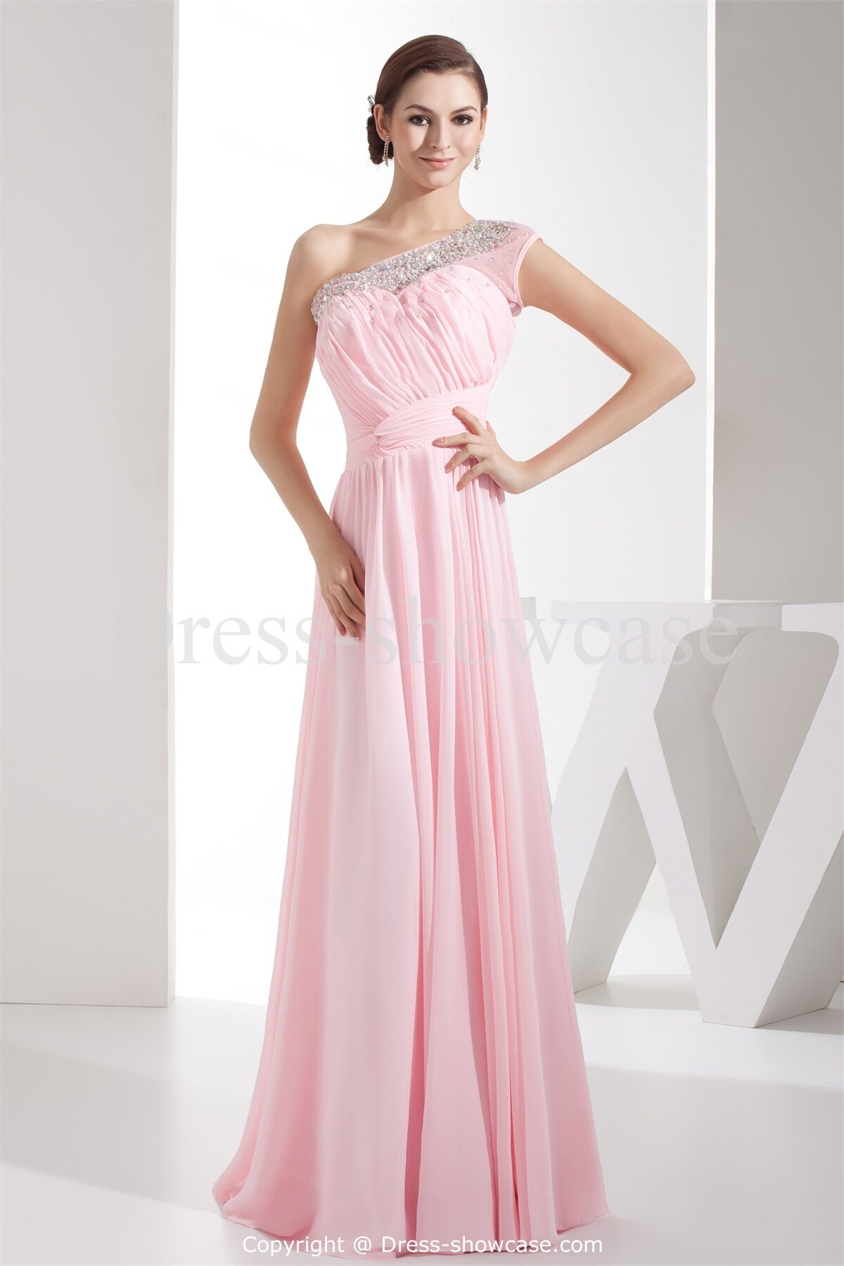 Pink dresses for wedding guests pictures ideas guide to for Guest of wedding dresses