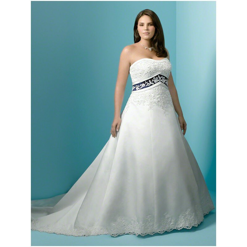 Plus Size Blue Wedding Dresses Photo 1