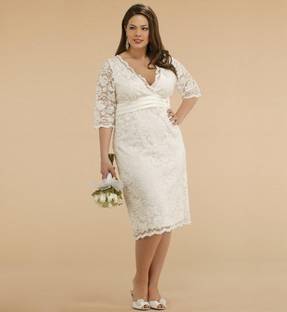 Plus size dresses for summer wedding