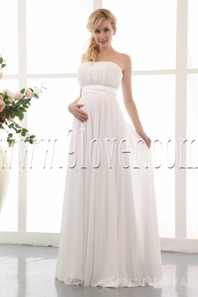 Plus size maternity wedding dresses: Pictures ideas, Guide to buying ...