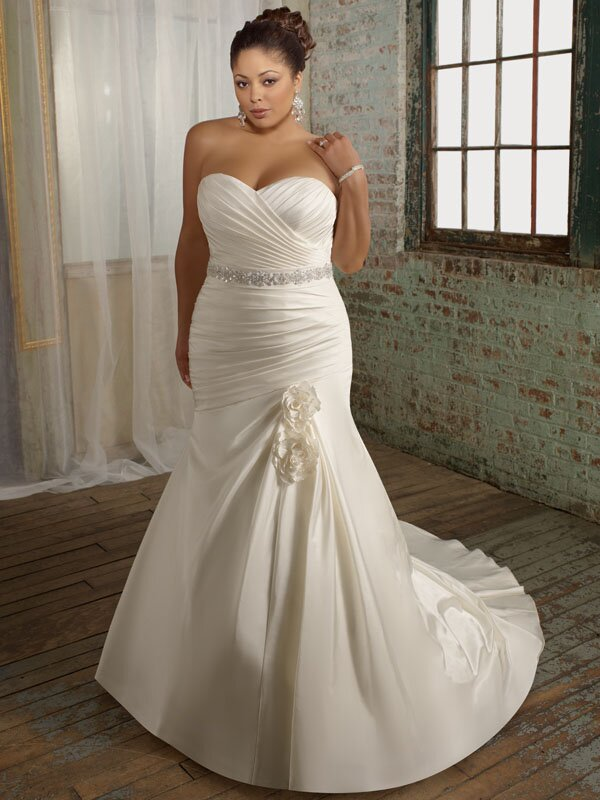 Plus size retro wedding dresses Photo - 3