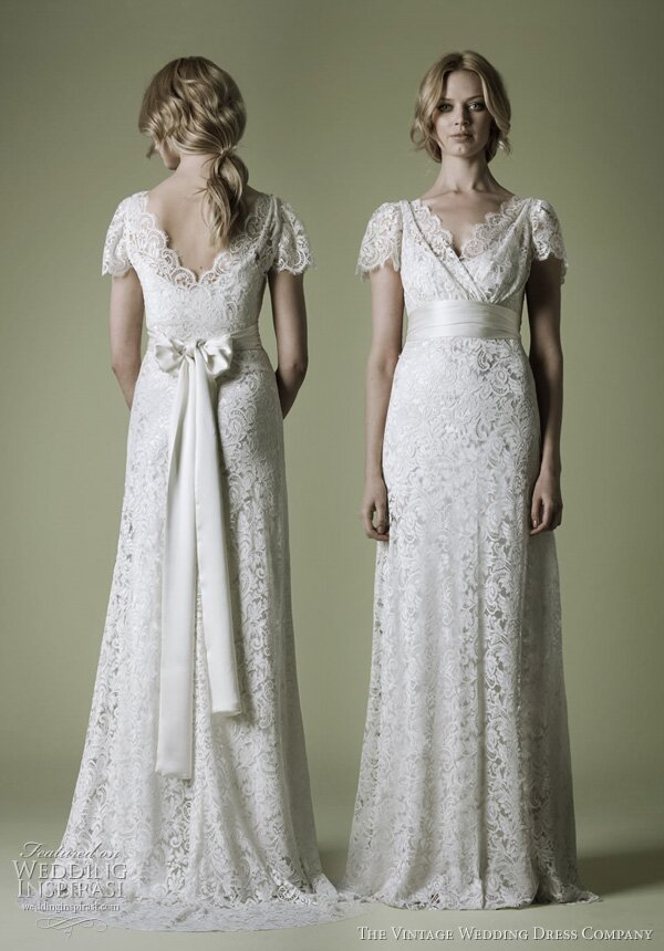 Plus size retro wedding dresses Photo - 4