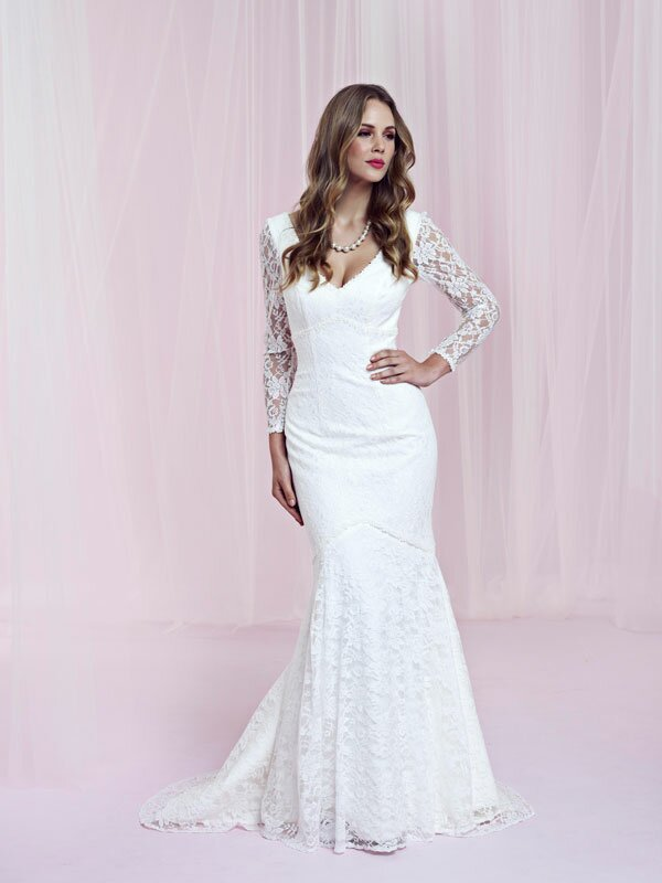 Plus size retro wedding dresses Photo - 5