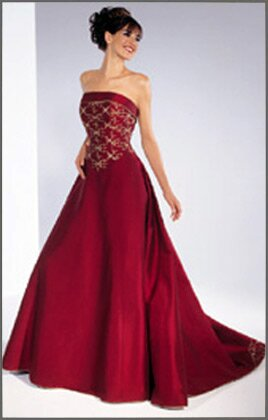 Red and gold wedding dresses: Pictures ideas, Guide to buying ...