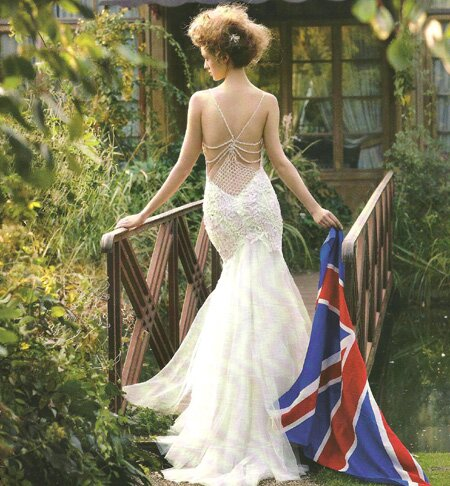 Retro inspired wedding dresses Photo - 4