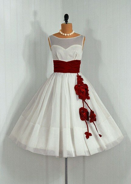 Retro wedding dresses Photo - 2