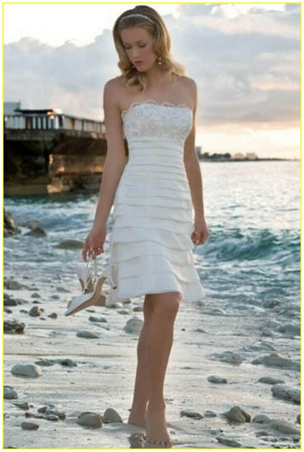 Second marriage wedding dresses beach: Pictures ideas, Guide to ...