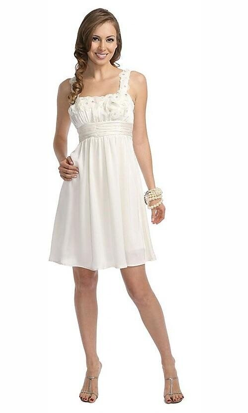 Short white dresses for wedding reception: Pictures ideas, Guide to ...