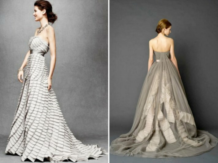 Silver gray wedding dresses pictures ideas guide to buying silver gray wedding dresses photo 1 junglespirit Choice Image