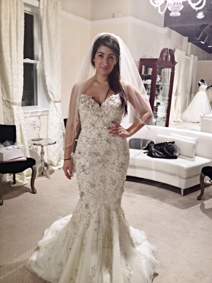 Stephen yearick wedding dresses bridesmaid dresses sleeves for Vintage wedding dresses dallas