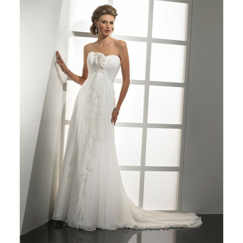 Strapless white wedding dresses: Pictures ideas, Guide to buying ...