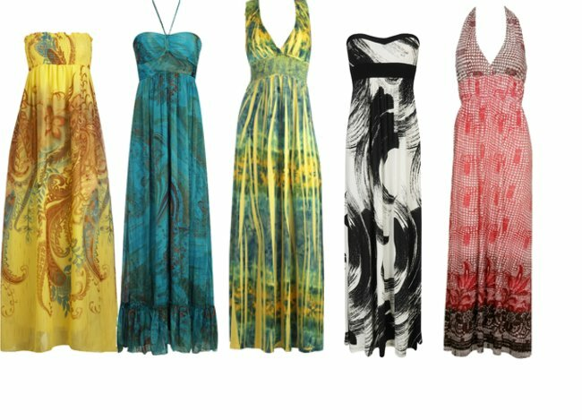 Summer maxi dresses for weddings Photo - 1