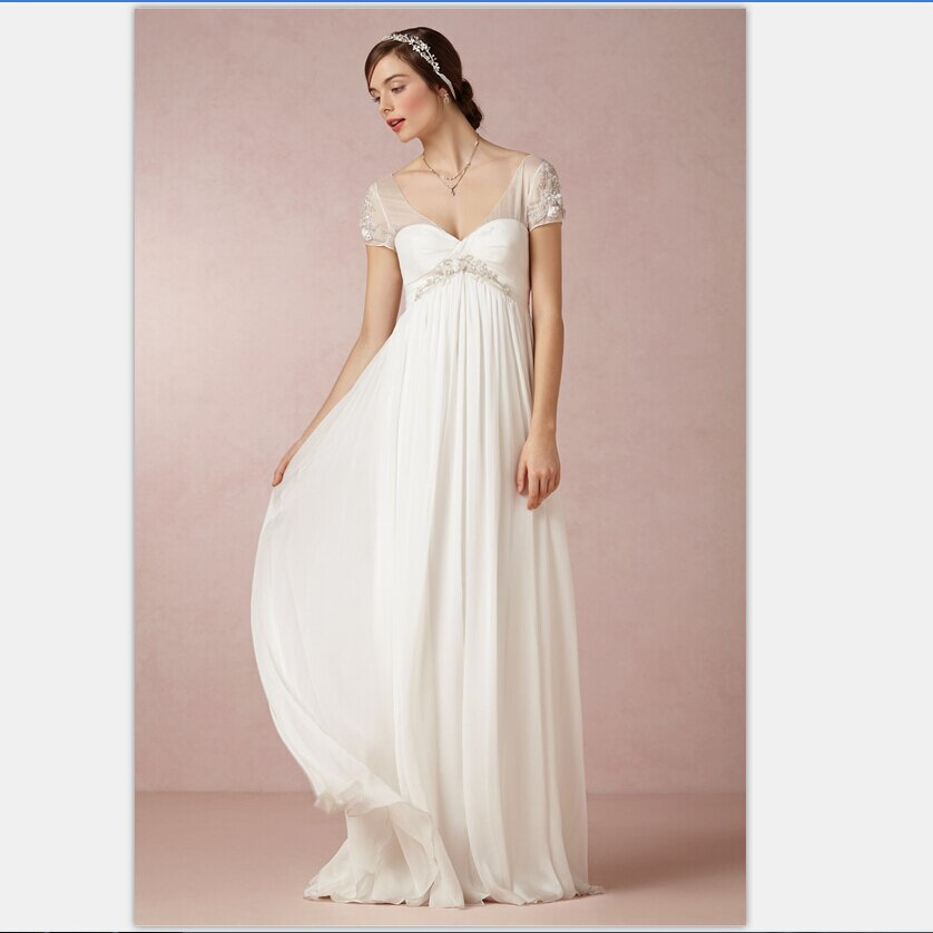 Summer style wedding dresses Photo - 9