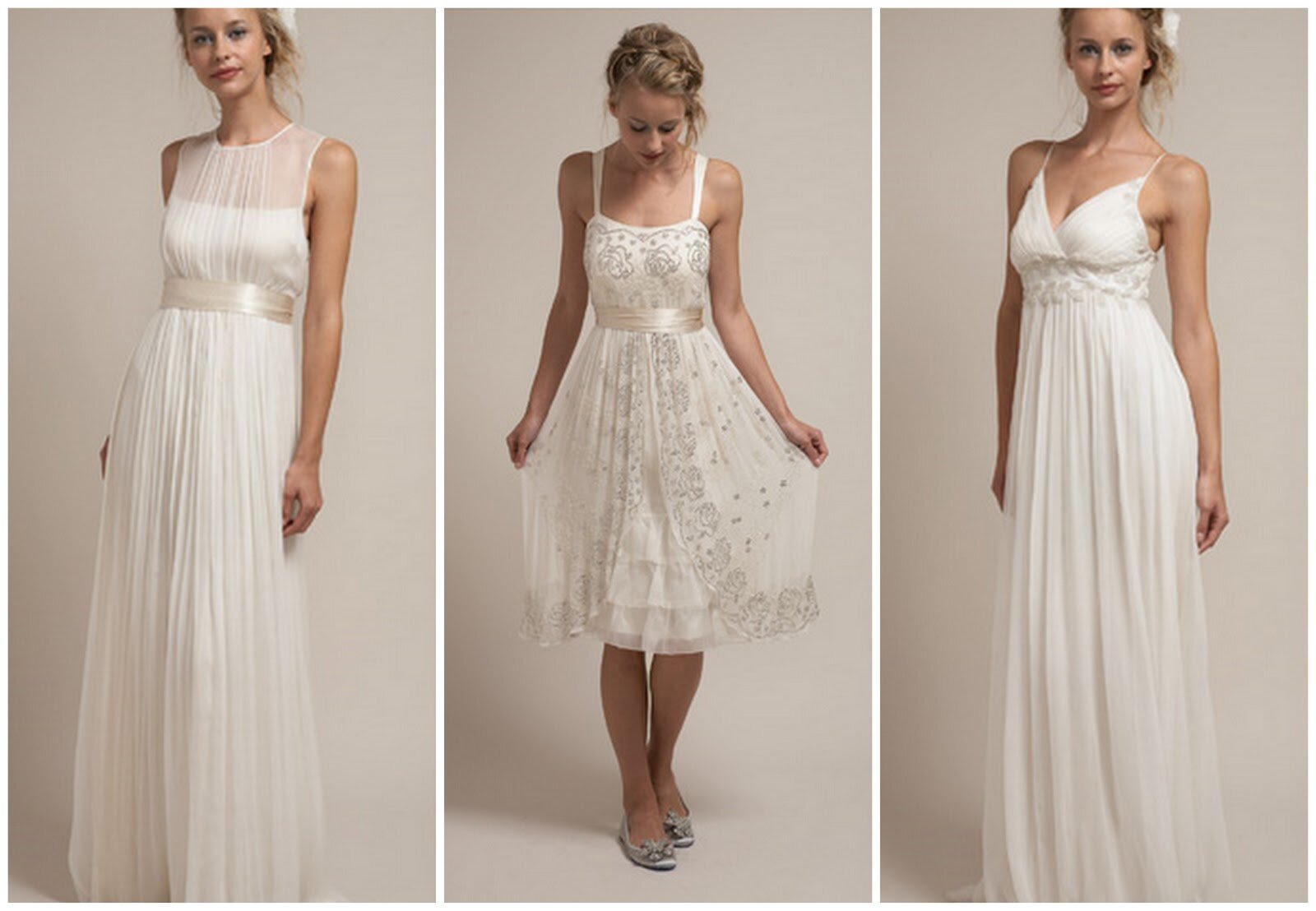 Summer style wedding dresses Photo - 5