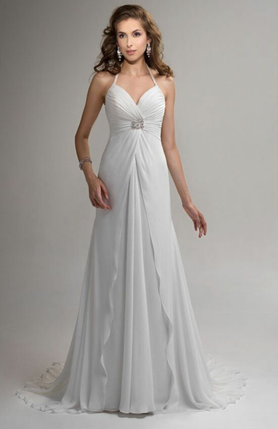 Summer style wedding dresses Photo - 6