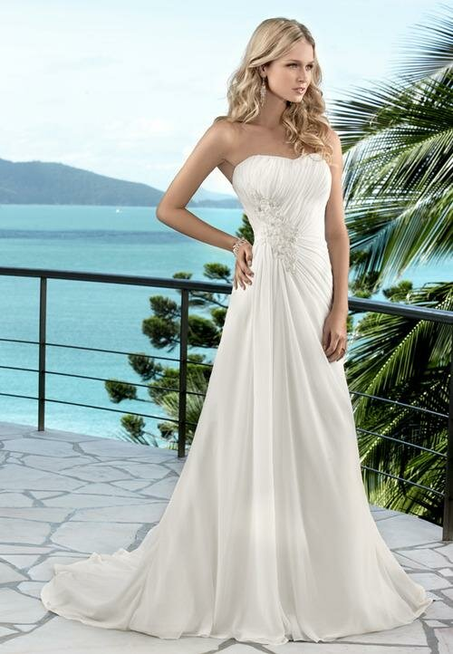 Summer wedding dresses Photo - 8