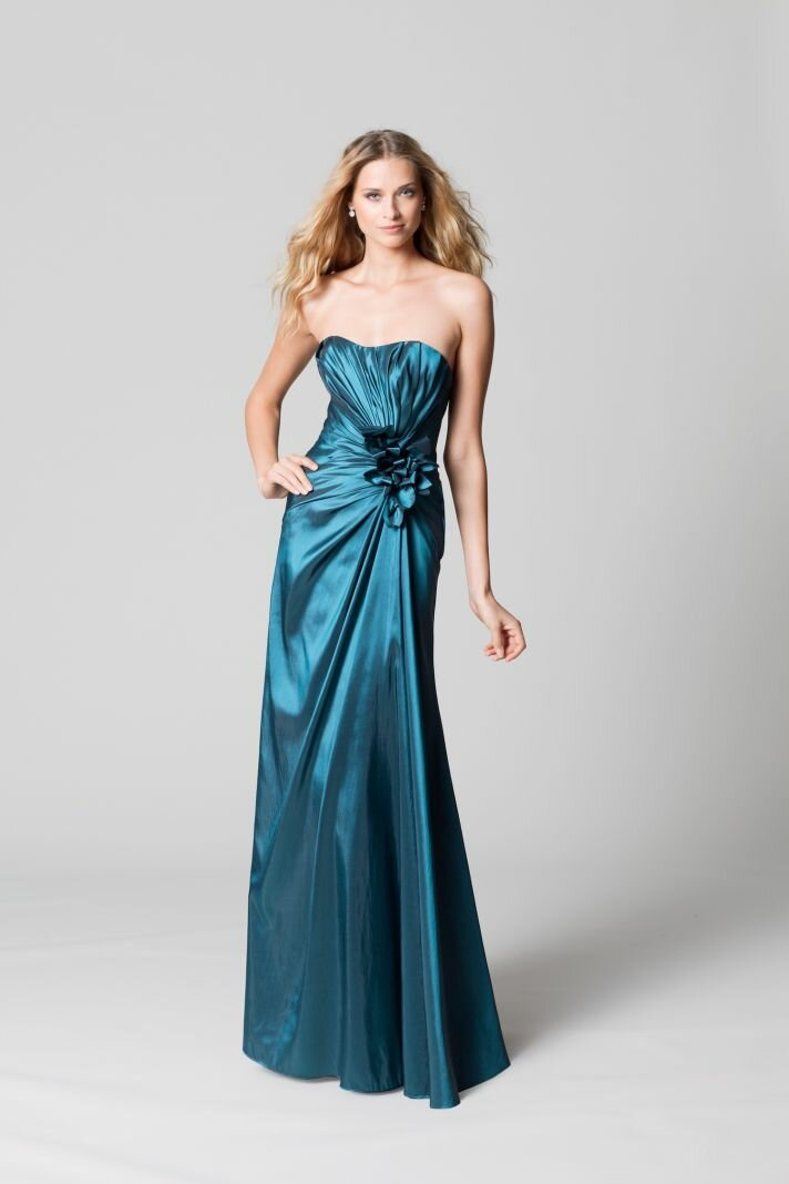 Teal dresses for wedding Photo - 4