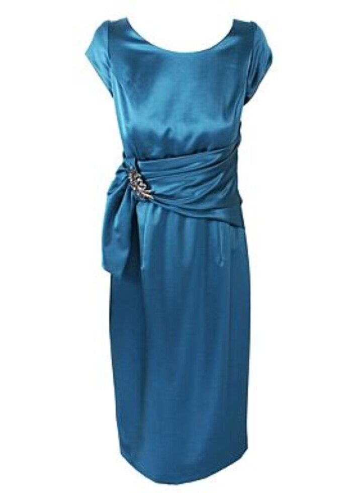 Teal dresses for wedding Photo - 5