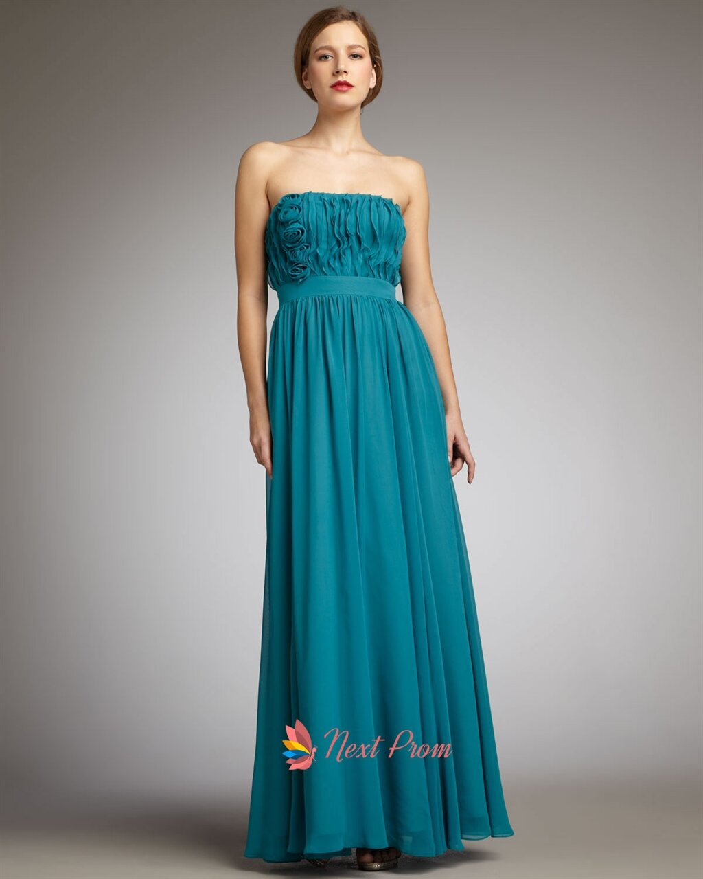 Teal dresses for wedding Photo - 7