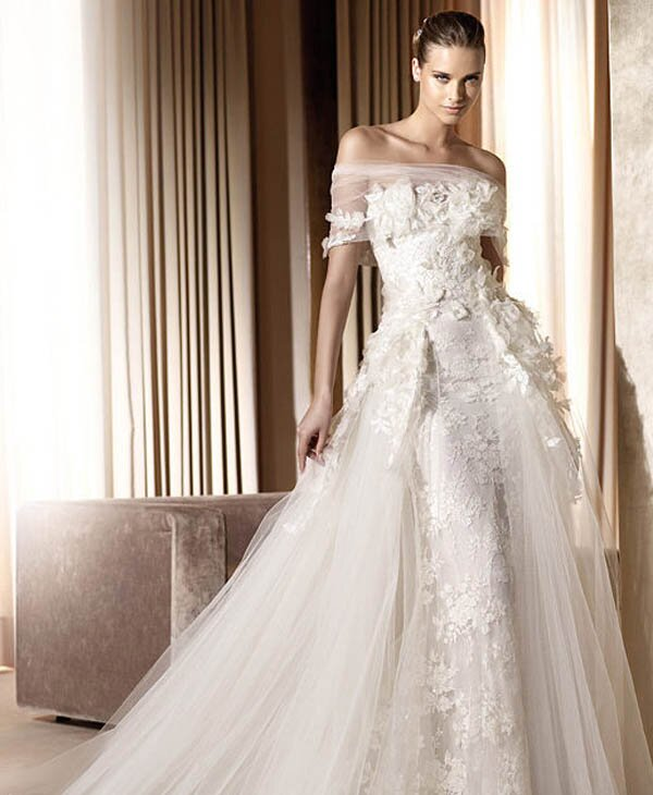 The most beautiful wedding dresses in the world pictures for World s most beautiful wedding dress