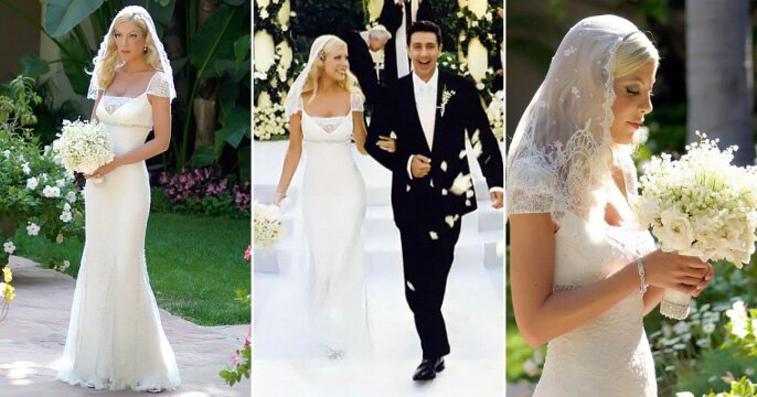 Tori Spelling Wedding Dresses Pictures Ideas Guide To Buying