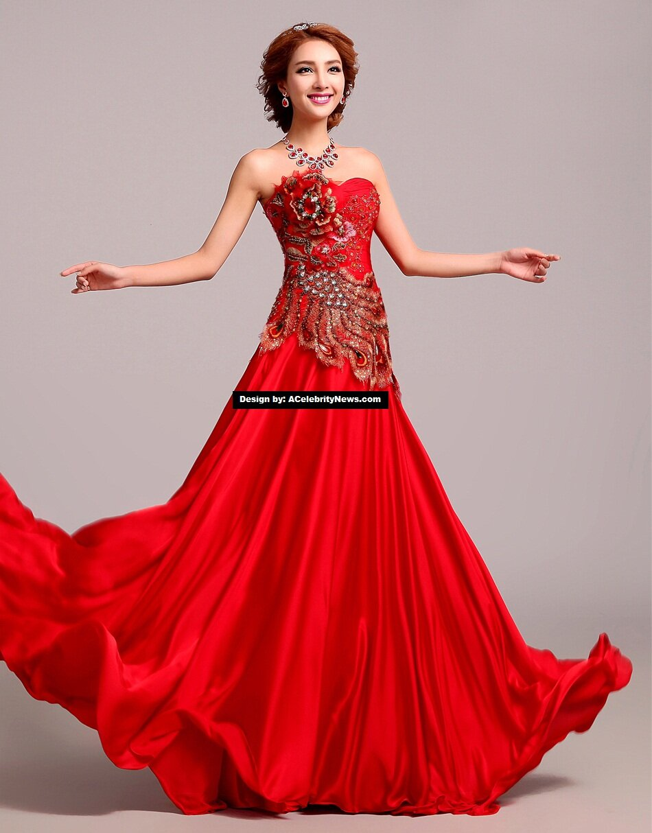 Traditional chinese wedding dresses pictures ideas guide for Wedding dresses in china