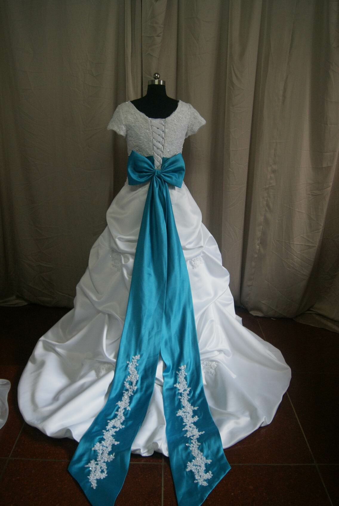 Turquoise dresses for weddings Photo - 9