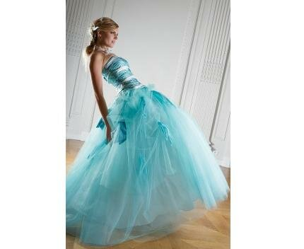 Turquoise dresses for weddings Photo - 1