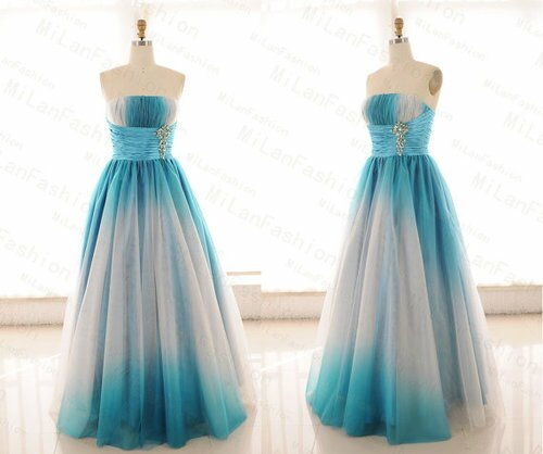 Turquoise dresses for weddings Photo - 4