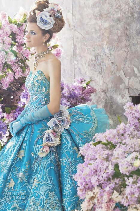 Turquoise dresses for weddings Photo - 5