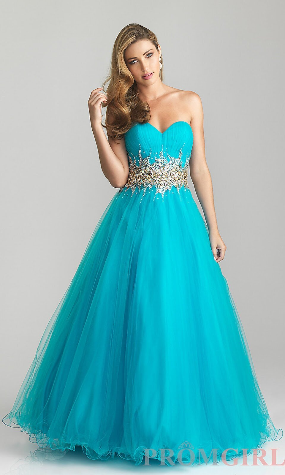 Turquoise dresses for weddings Photo - 6