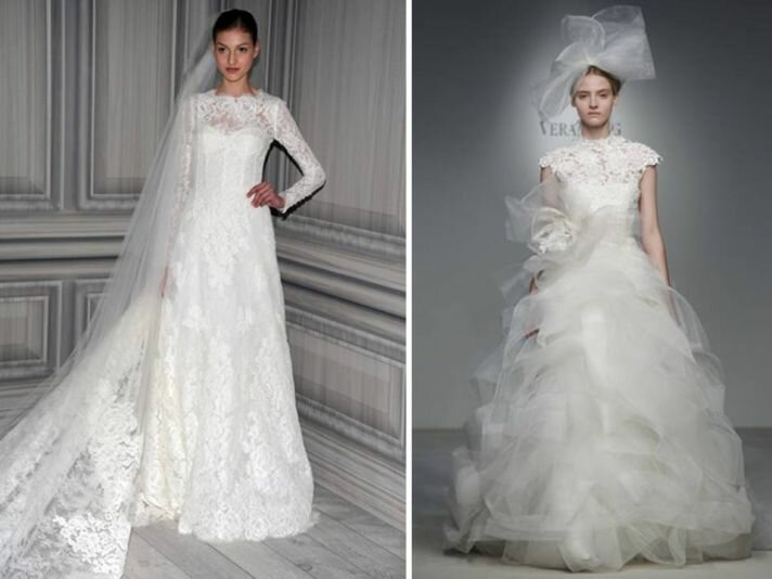 Vera Wang lace wedding dresses: Pictures ideas, Guide to buying ...