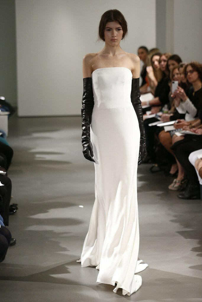 Vera Wang Sheath Wedding Dresses Photo