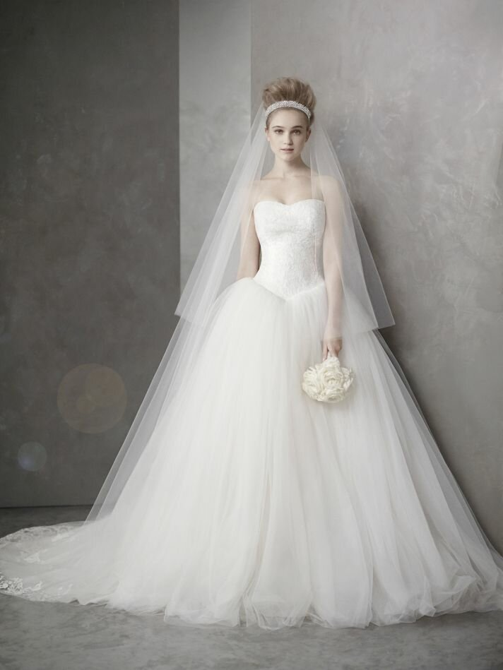 Vera Wang wedding dresses davids bridal Photo - 4