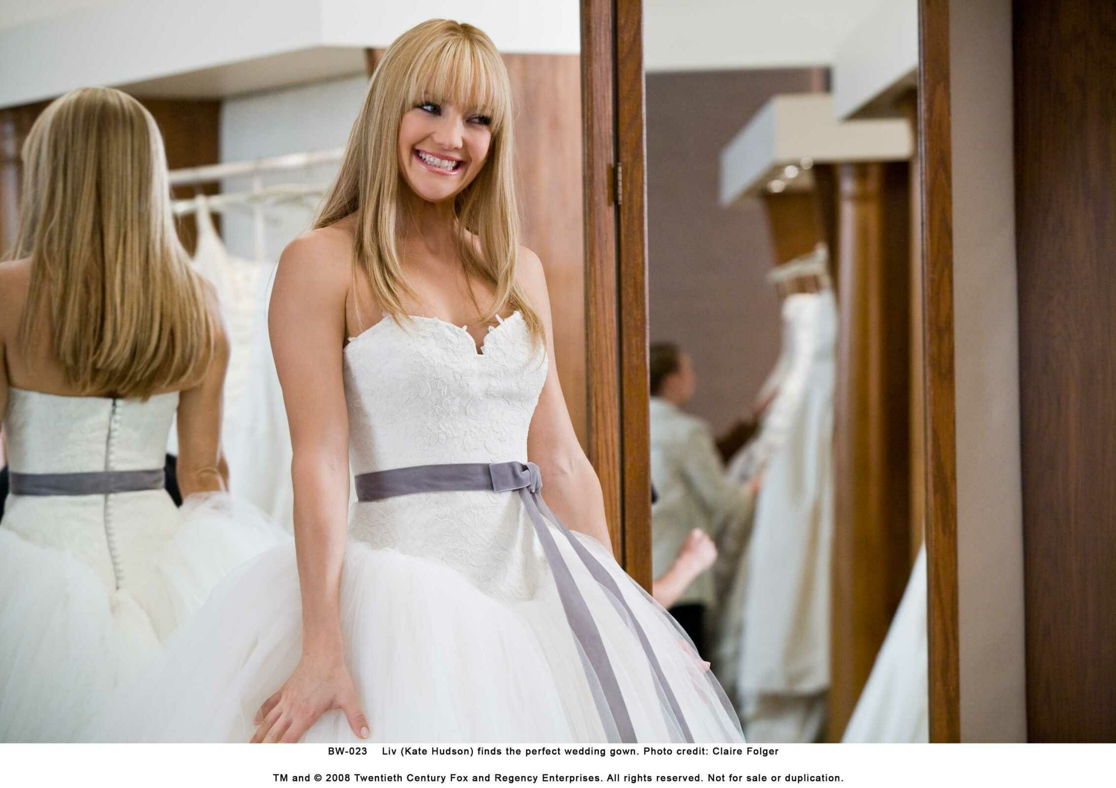 Vera Wang Wedding Dresses From Bride Wars Photo