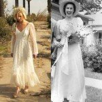 Vintage rustic wedding dresses Photo - 1