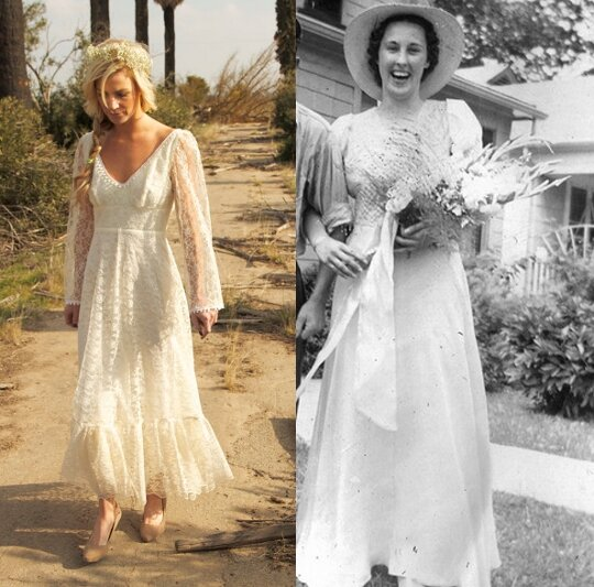 Vintage Rustic Wedding Dresses Pictures Ideas Guide To