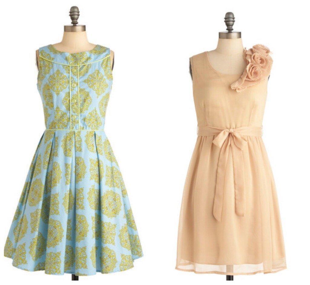 Cute Vintage Inspired Dresses