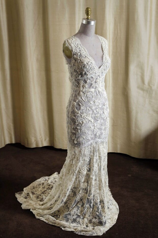 Lovely Vintage Wedding Dresses Chicago Photo   5