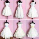 Vintage wedding dresses material Photo - 1
